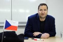 Přednáška Mgr. Záruby o tom, jak se dělá sportovní žurnalistika